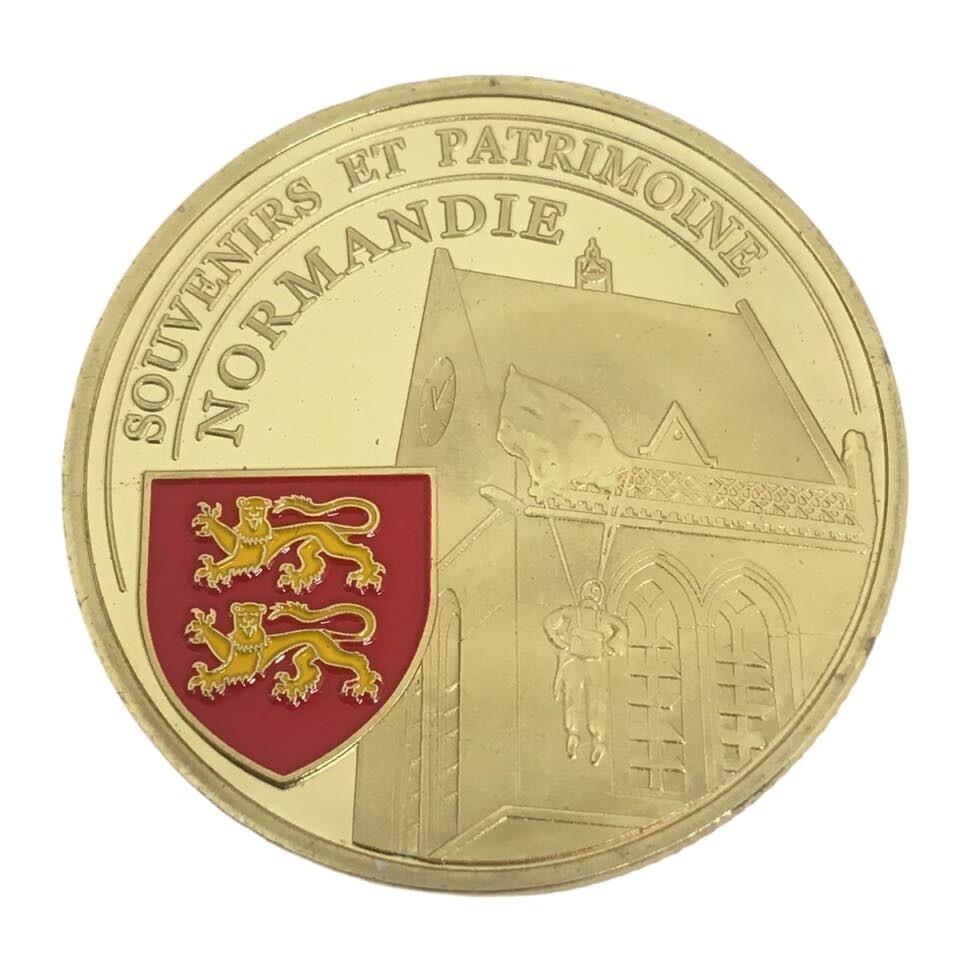 Coin commémoration débarquement D-DAY 1944 Sainte Mère Église