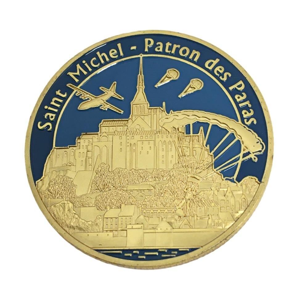 Médaille souvenirs Saint Michel Saint Patron des Parachutistes