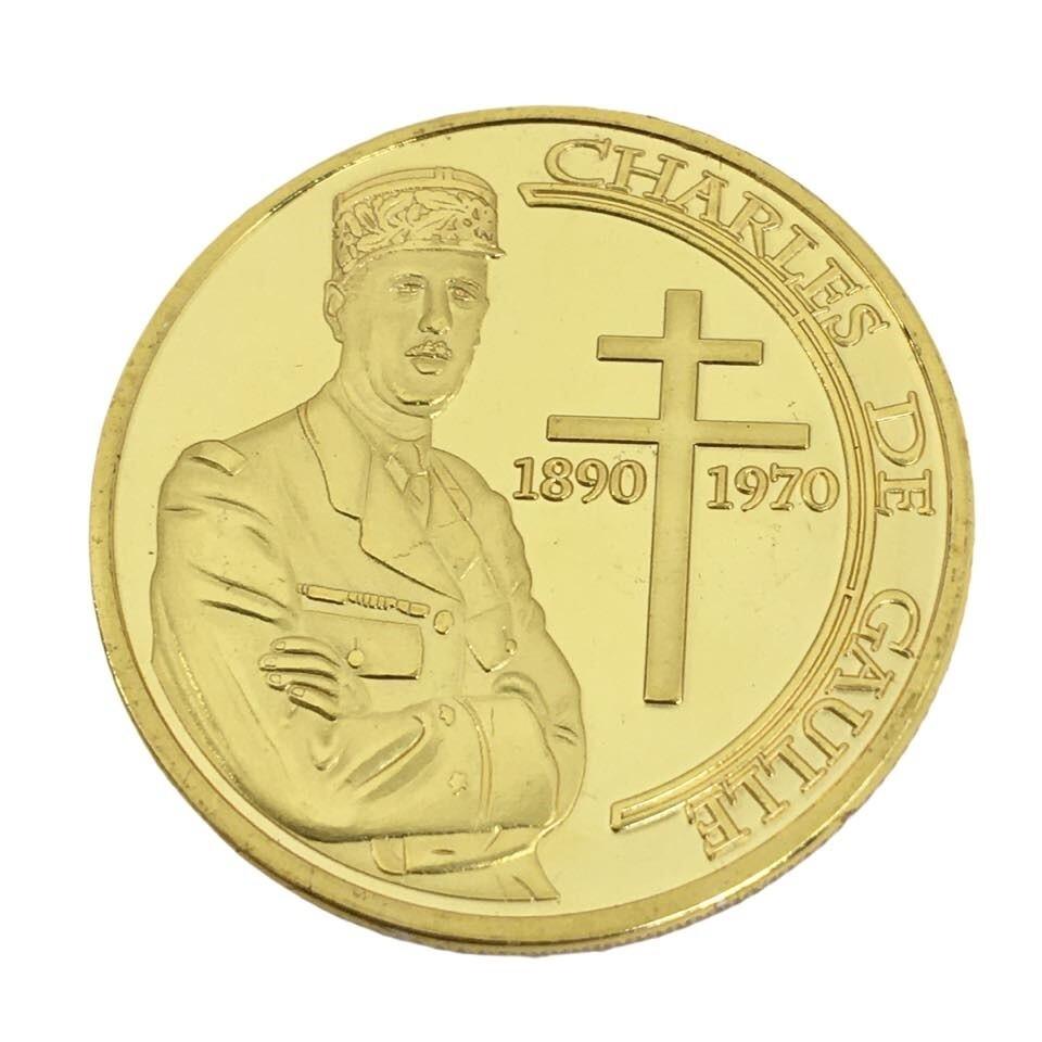 Médaille souvenirs Charles de Gaulle