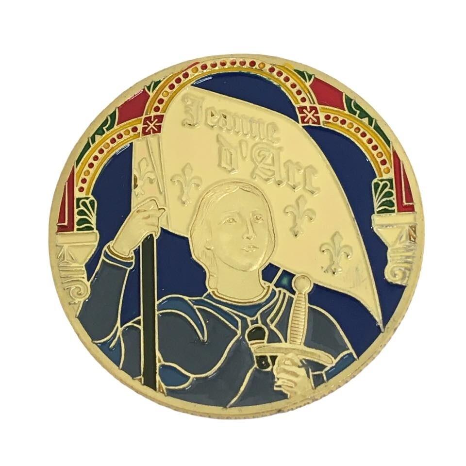 Médaille souvenirs Sainte Jeanne d'Arc