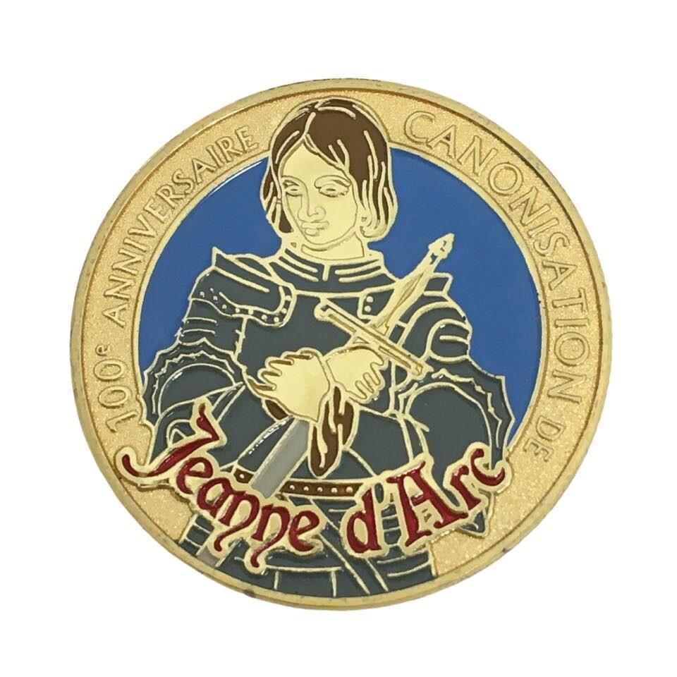 Médaille 100e Anniversaire de la canonisation de Sainte Jeanne d'Arc