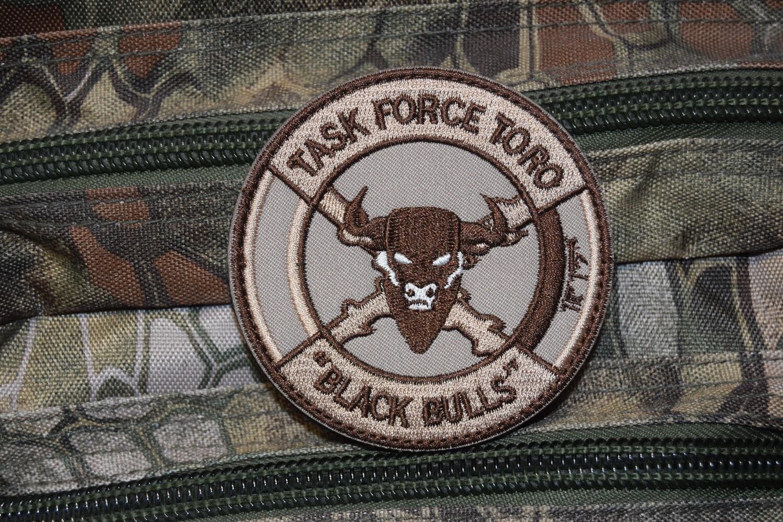 Patch TASK FORCE TORO BLACK BULLS