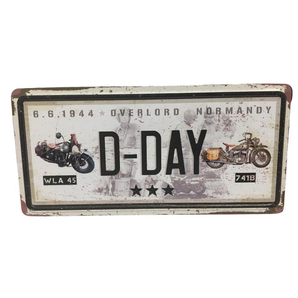 Magnet Moto Harley Davidson WLA 45 - Indian 741B D-DAY 1944