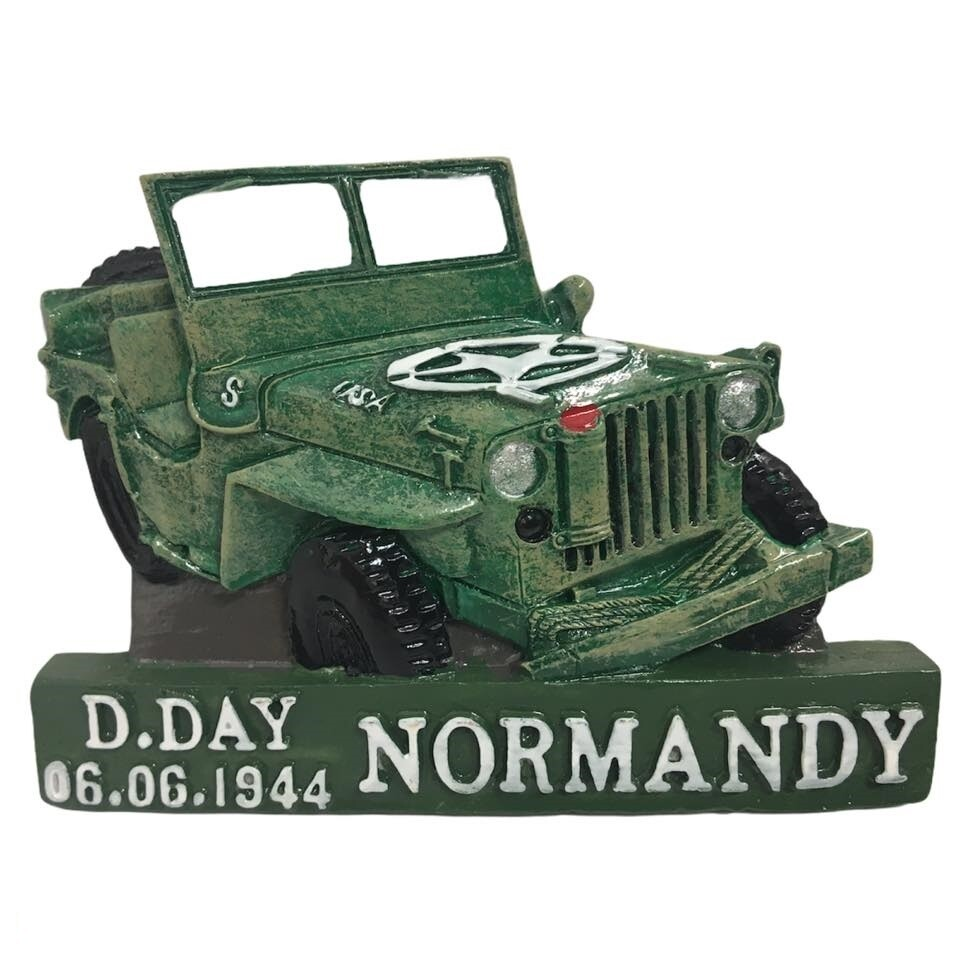 Magnet D-DAY Normandie 1944 Jeep