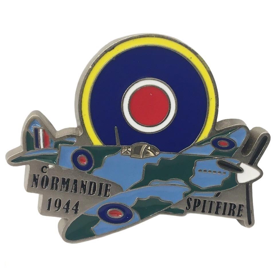 Magnet Normandie 1944 Avion SPITFIRE La Royal Air Force RAF