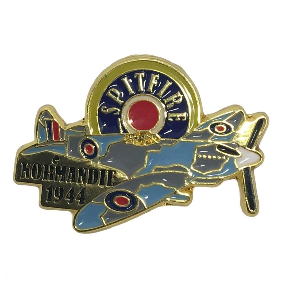 Pin's SPITFIRE D-DAY 6 Juin 1944 Normandie