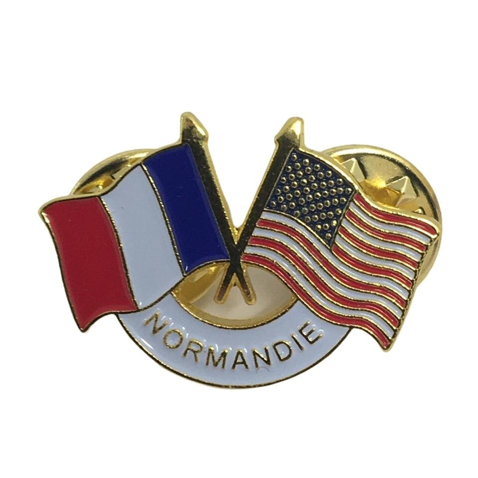 Pin's Normandie FRANCE USA