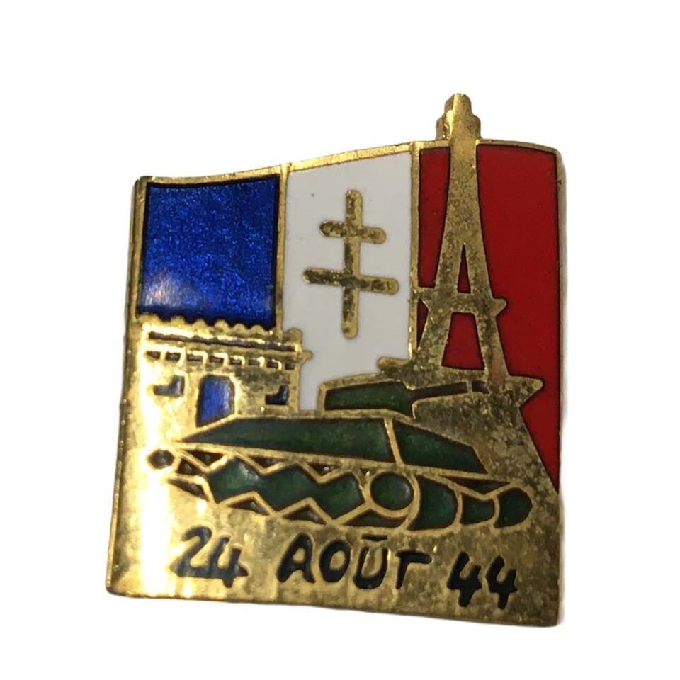 Pin's Libération de Paris 24 Août 1944