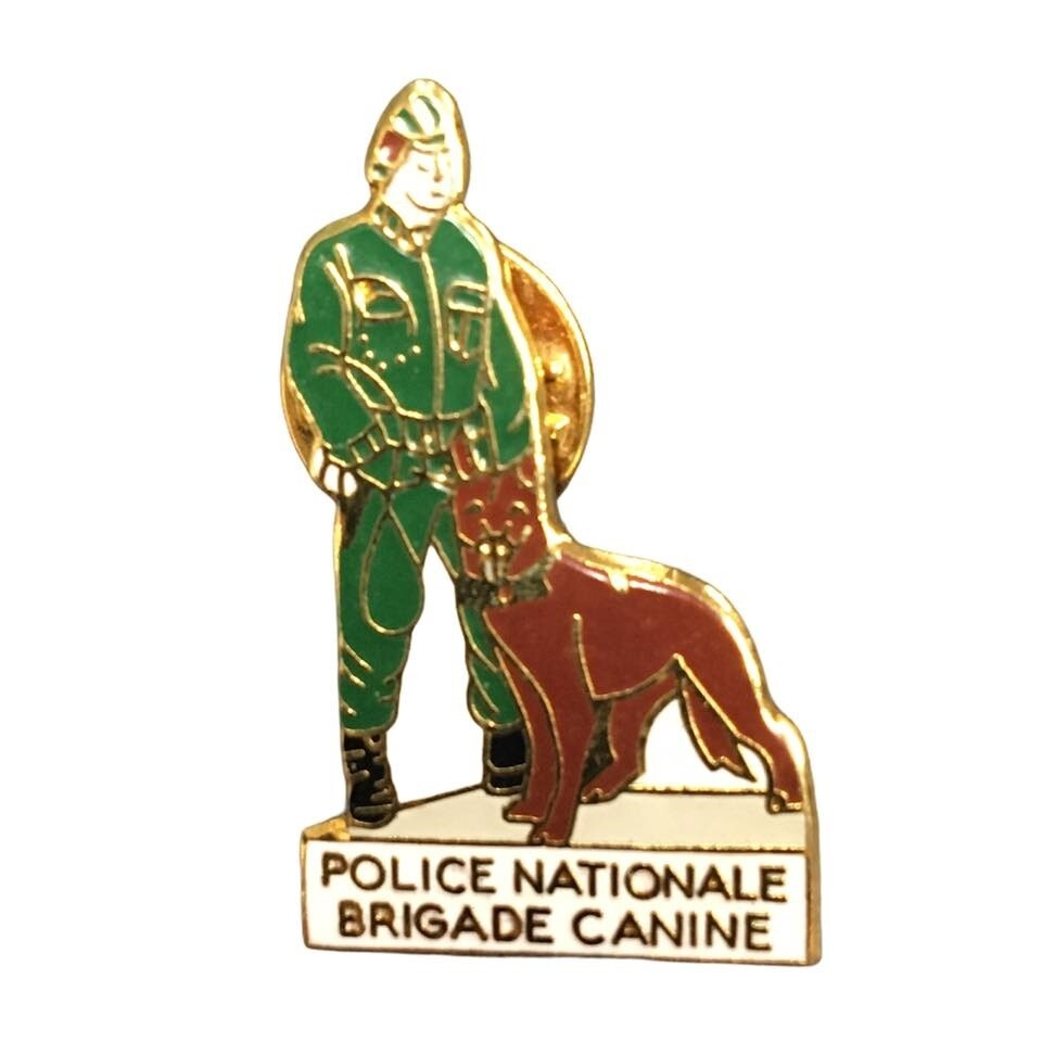 Pin's Police Nationale Brigade Canine