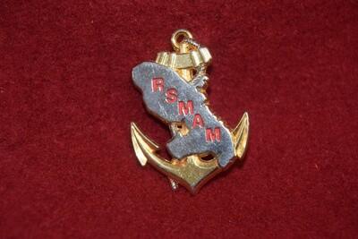 Insigne militaire RSMAM Service Militaire Adapté MARTINIQUE