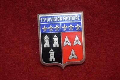 Insigne militaire 13e division militaire DRAGO PARIS