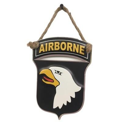 Plaque métal décoration 101st Airborne Division