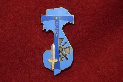 Insigne militaire de Promotion Sergent CUNY Fraisse PARIS