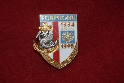 Insigne militaire 8e RPIMa FORPRONU Sarajevo BATINF 4 Parachutiste