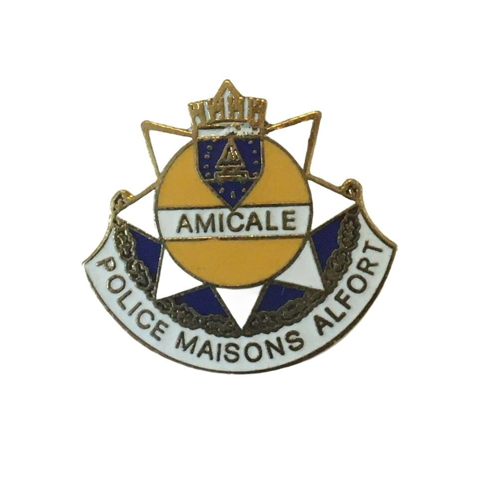 Pin's Amicale Police Maison Alfort
