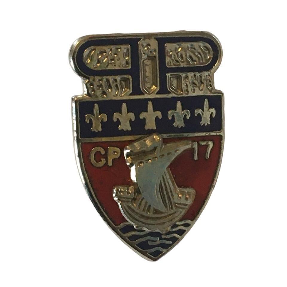 Pin's Préfecture de Police CP 17