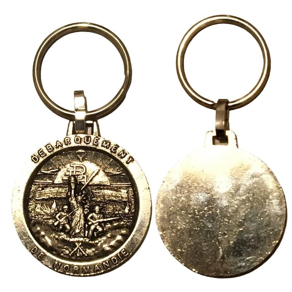 Porte clé militaire du débarquement en Normandie