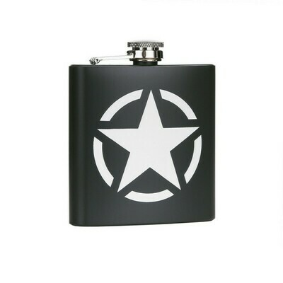 Flasque étoile Jeep US ARMY