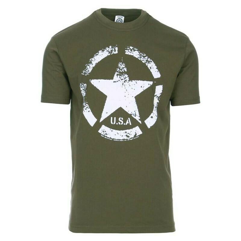 Tee-shirt Armée Américaine étoile Jeep USA
