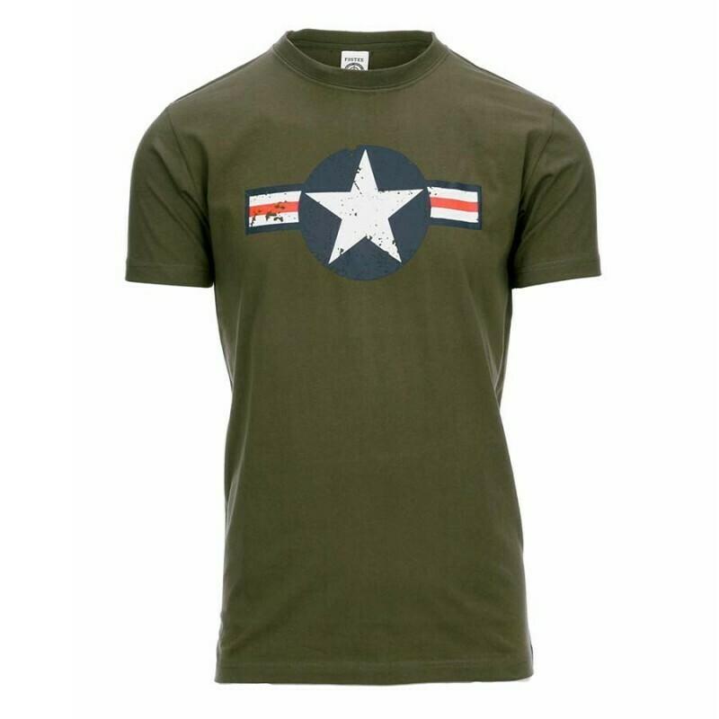 Tee-shirt KAKI Armée Américaine WW2 USAF