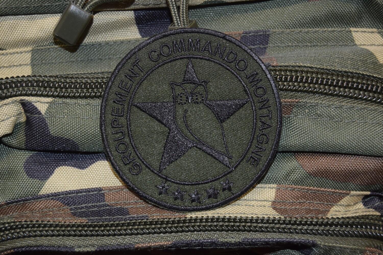 Patch Groupement Commando Montagne