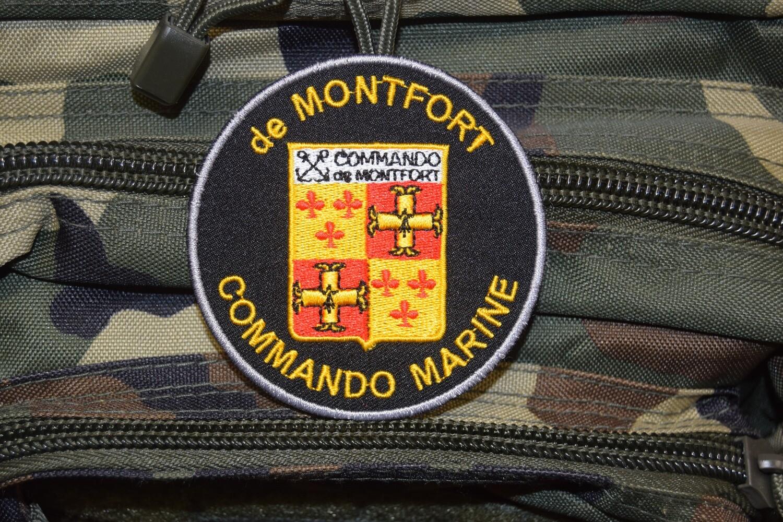 Patch militaire Commando Marine de MONTFORT