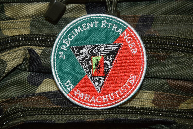 Patch militaire 2e Régiment étranger de parachutistes 2e REP