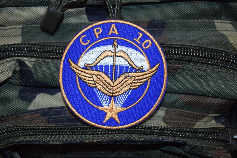 Patch militaire Commando Parachutiste de l'Armée de l'Air CPA 10