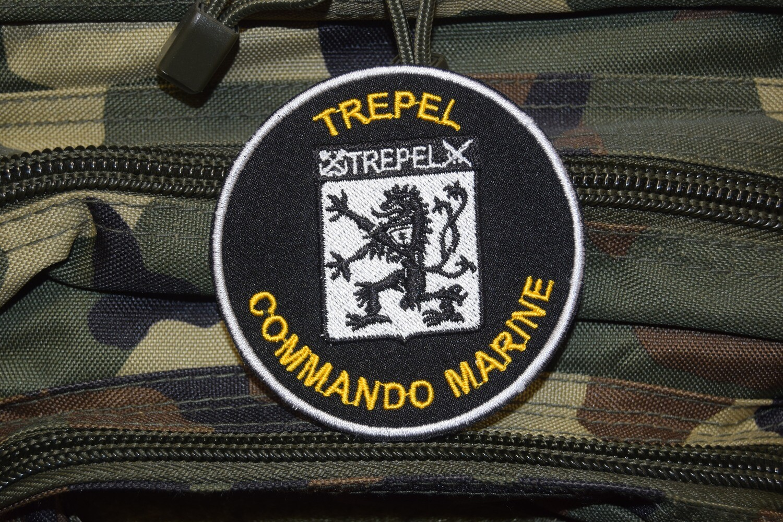 Patch militaire Commando Marine TREPEL