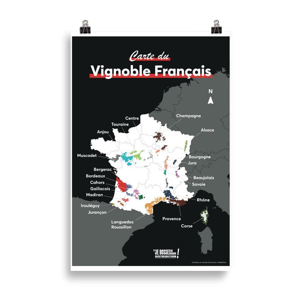 Carte des Vins - pays frontaliers
