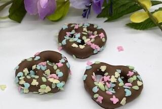 Easter Mini Pretzels