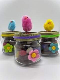 Easter Pretzel Jars