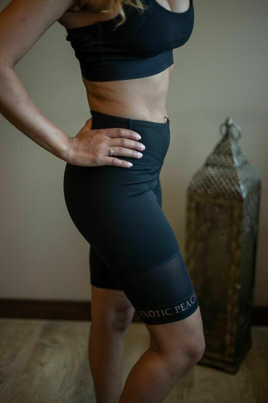 Active Mesh Detail Bike Shorts