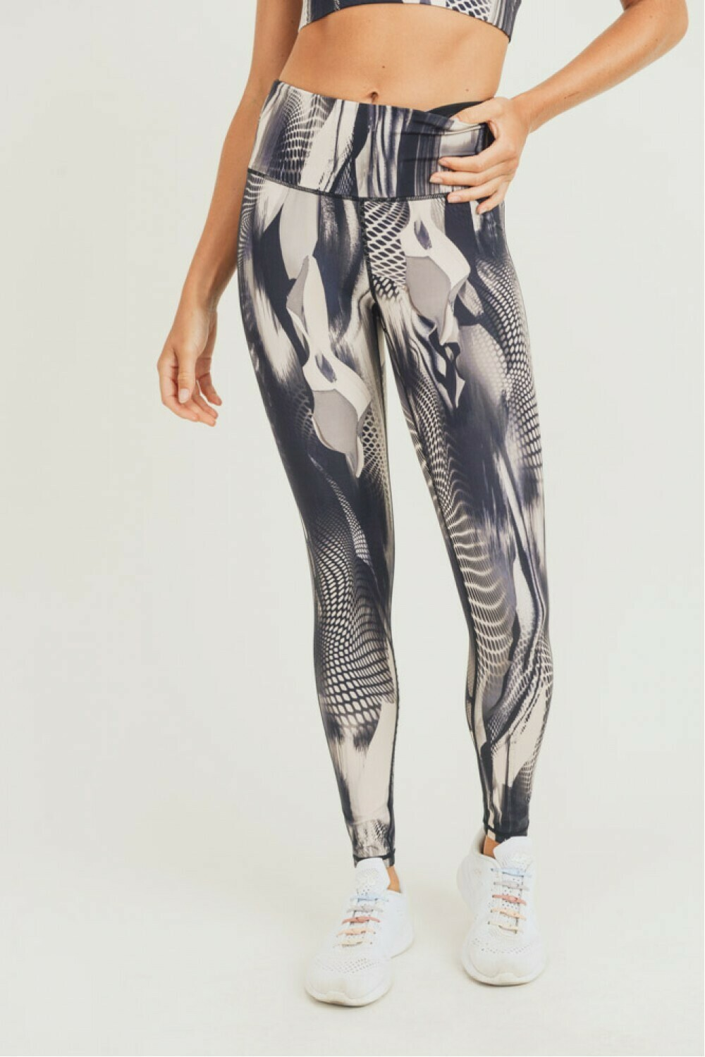 Tread Space Print Highwaist leggings