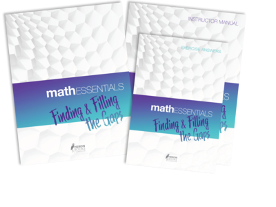 Math Essentials – Finding and Filling the Gaps (the complete package)
