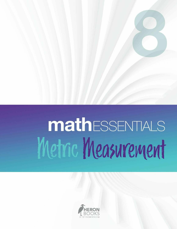Math Essentials 8 - Metric Measurement