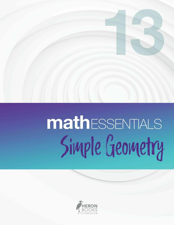 Math Essentials 13 - Simple Geometry