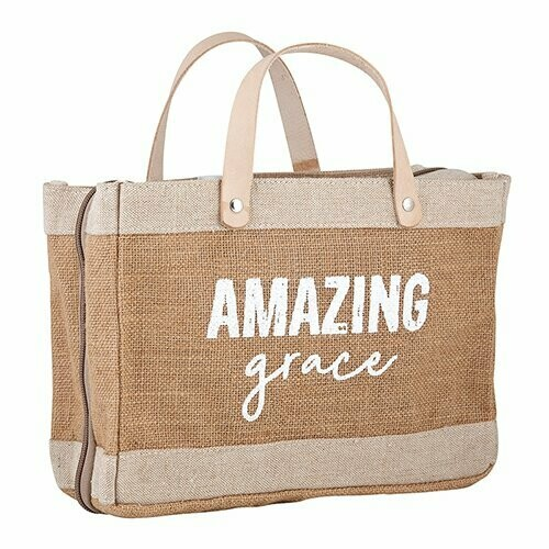 Bible Cover Tote AMAZING GRACE