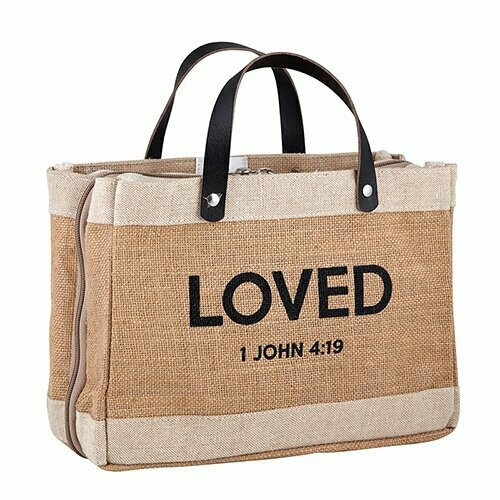 Bible Cover Tote LOVED
