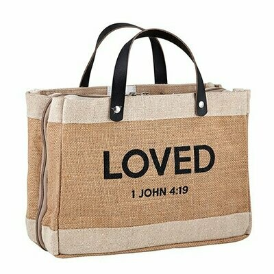 Bible Cover Tote | LOVED