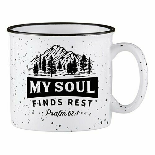 Campfire Mug- My Soul Finds Rest
