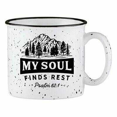 Camp Mug My Soul Finds Rest