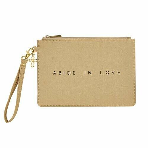 Abide in Love Wristlet