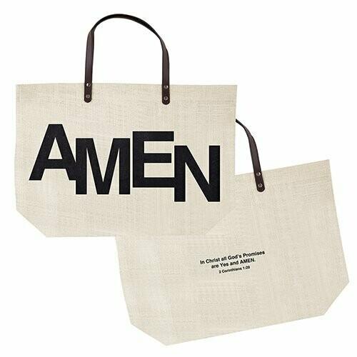 Amen- Jute tote bag