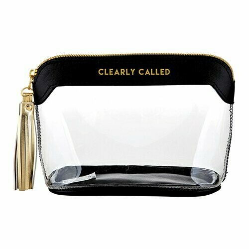 Clearly Called Clear Pouch