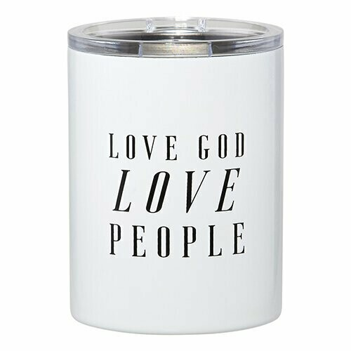 Stainless Steel Tumbler Love God Love People