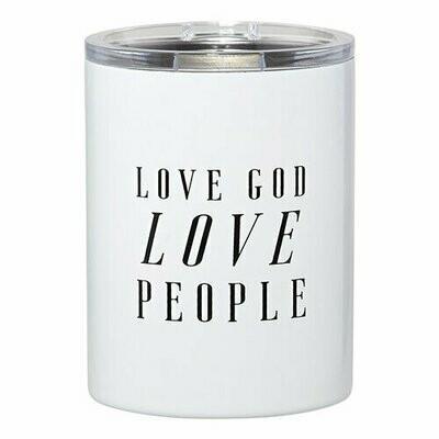 SS Tumbler | Love God Love People