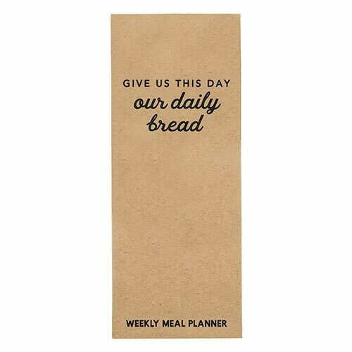 Meal Planner |Our Daily Bread