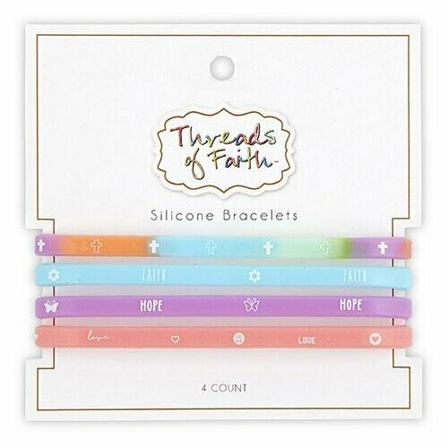 Silicone Bracelet Rainbow