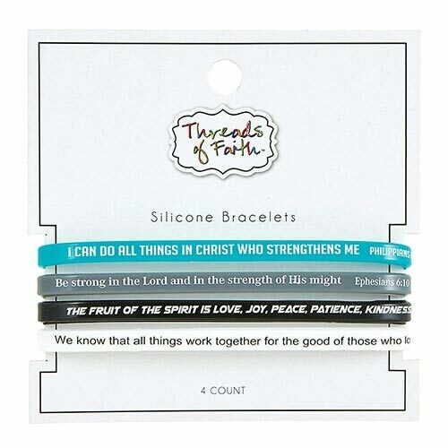 Silicone Bracelet Scripture